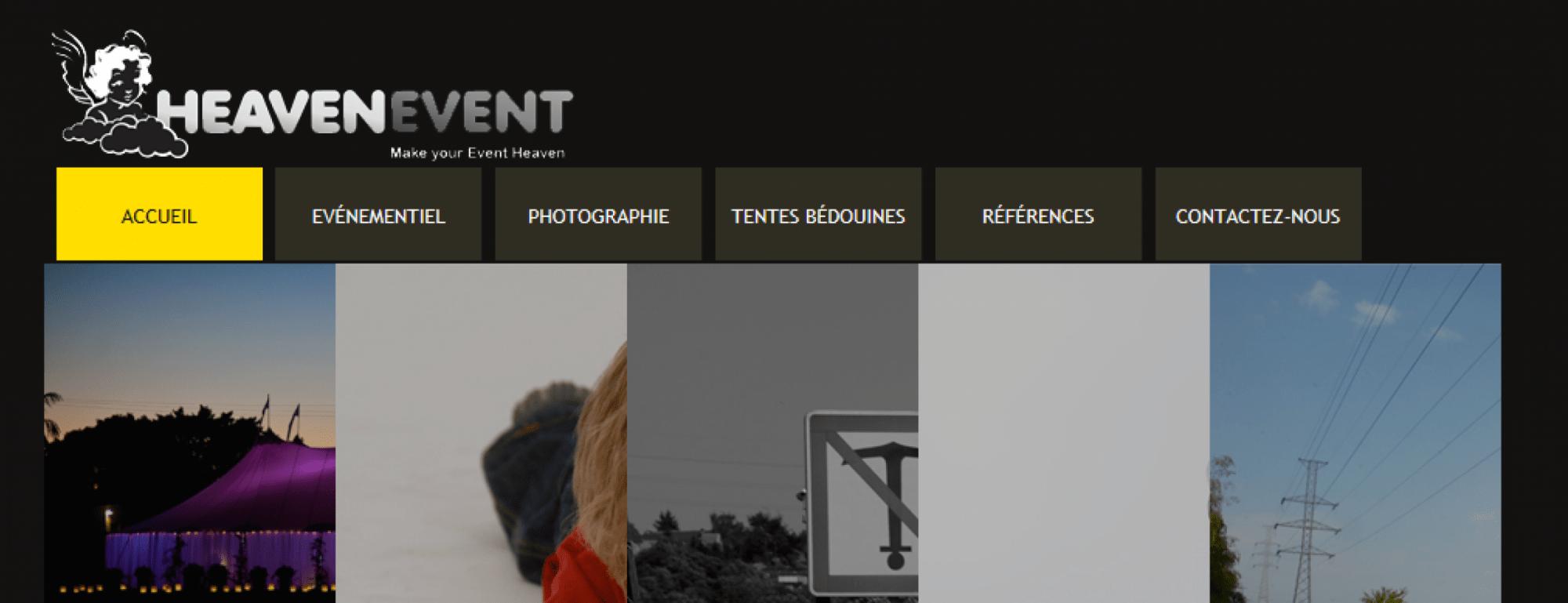 Site Internet Heaven Event