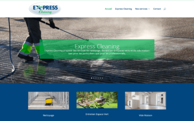 Site Internet Express Cleaning
