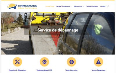 Site Internet Garage Timmermans