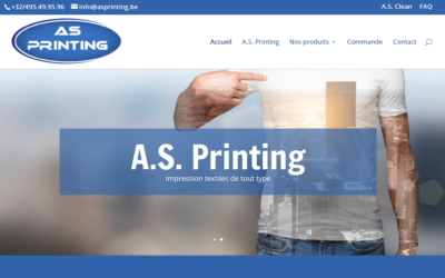 Site Internet A.S. Printing