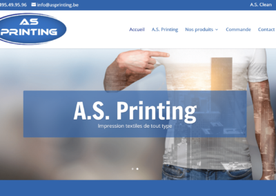 Site Internet A.S. Printing