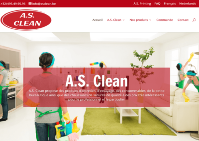 Site Internet A.S. Clean