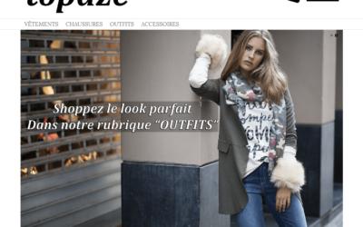 Site e-commerce Topaze