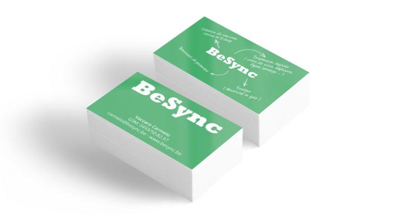 Cartes de visite BeSync