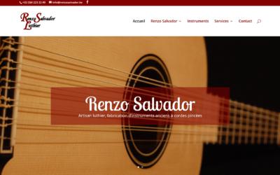 Site Internet Renzo Salvador