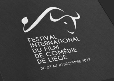 Création du logo du Festival International du Film de Comédie de Liège
