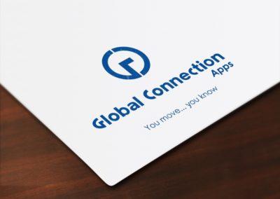 Création du logo de Global Connection Apps