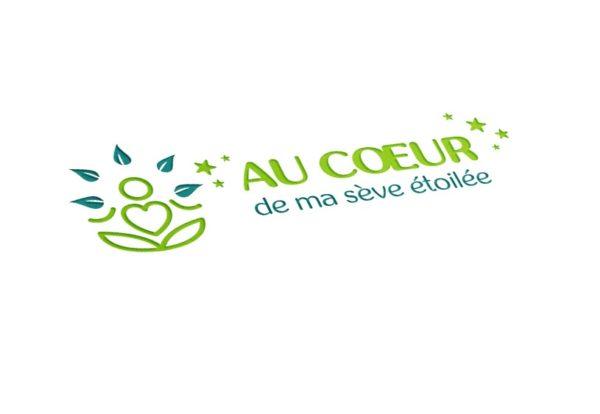 """Création du logo de """"Au coeur de ma sève étoilée""""."""