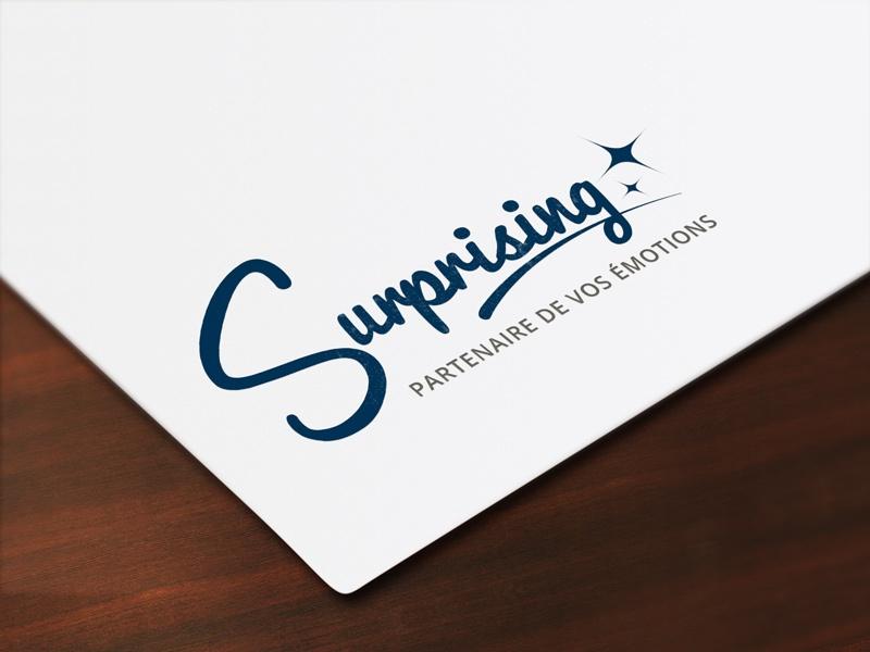 Création logo Surprising