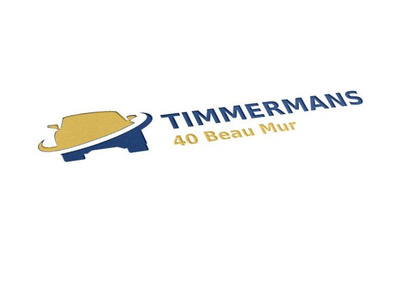 Création du logo du garage Timmermans 40 Beau Mur