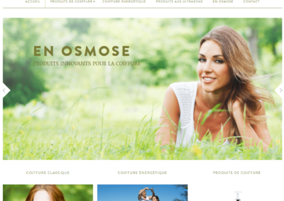 Site e-commerce En Osmose