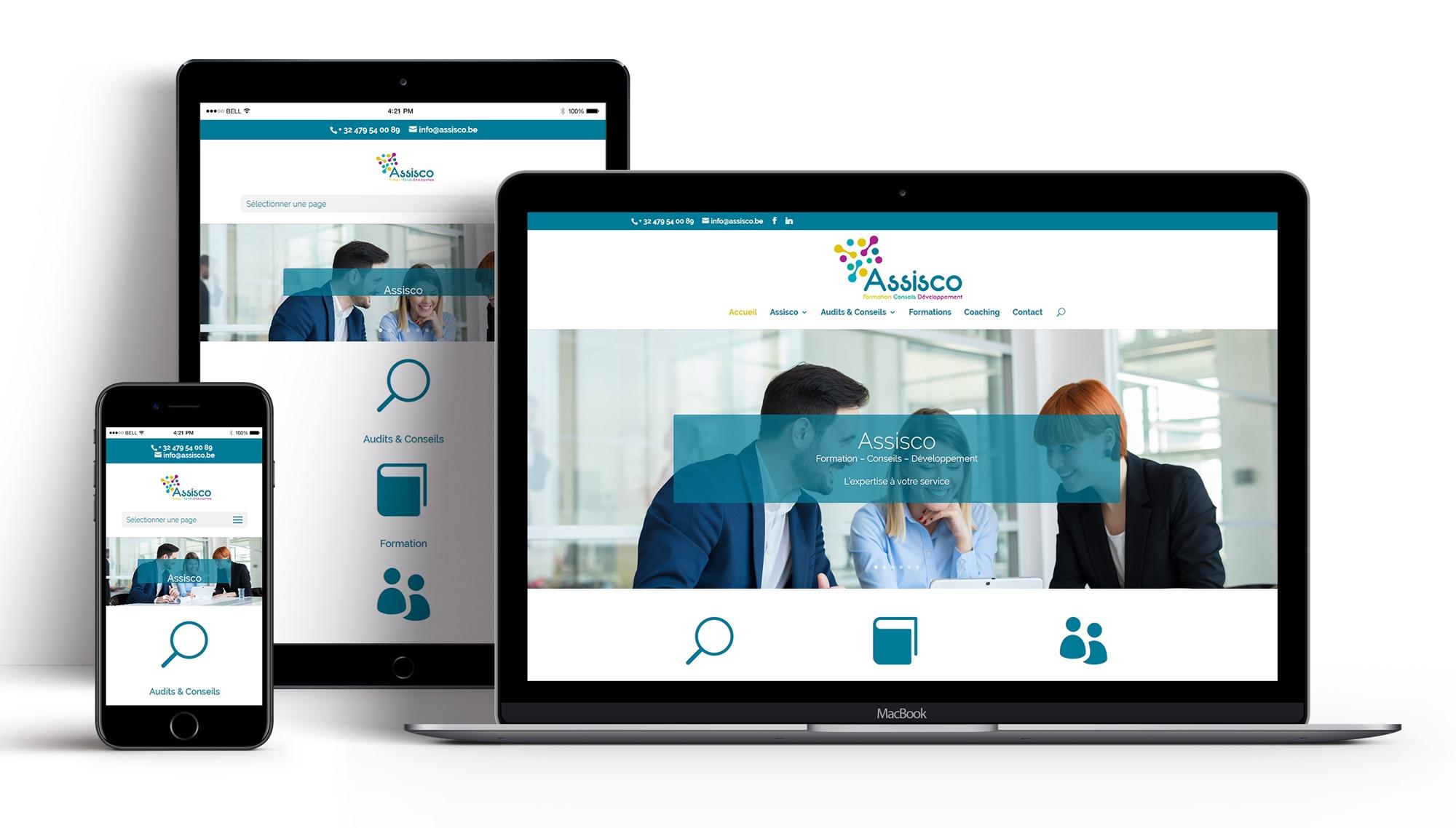 Création site Internet Assisco