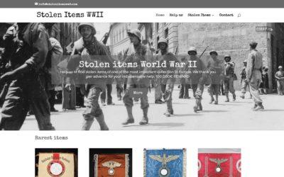 Site Internet Stolen Items WW2