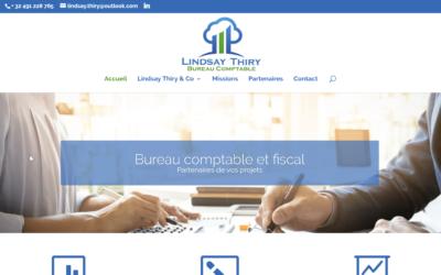 Site Internet Lindsay Thiry