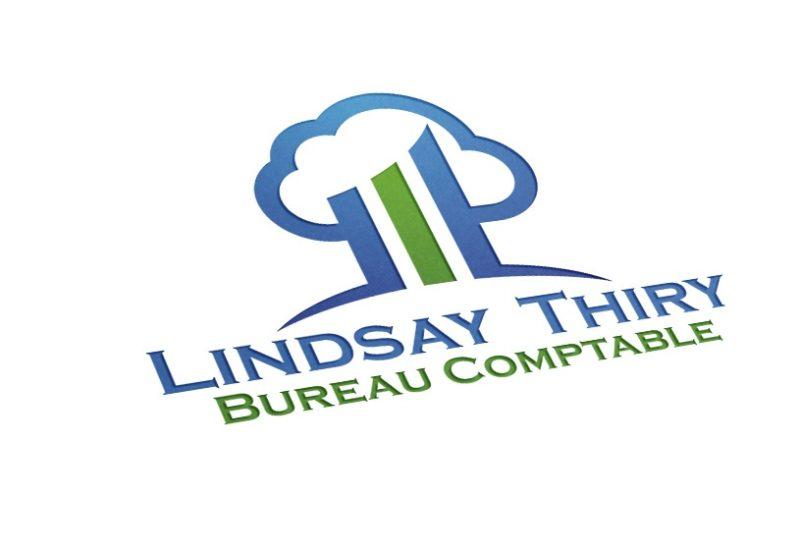 Création du logo comptable Lindsay Thiry