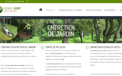 Site Internet Espace Vert