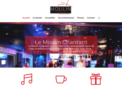Site Internet Moulin Chantant