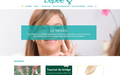 Mise en place du site Internet de l'ASBL Epée
