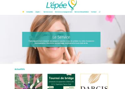 Site Internet ASBL Epée