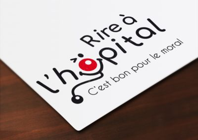 Création du logo Rire à l'hôpital