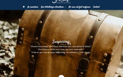 Création du site Internet de Surprising