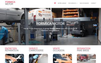 Création du site Internet du garage Formica Motor