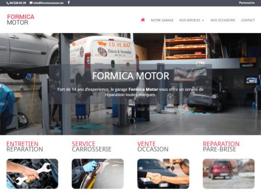 Site Internet Formica Motor