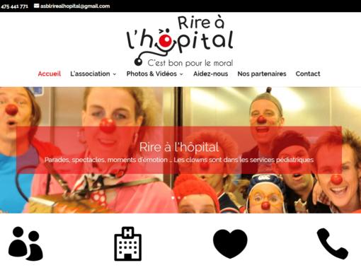 Site Internet Rire à l'hôpital