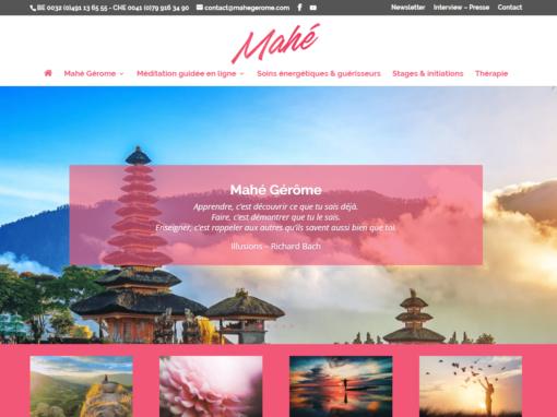 Site Internet Mahé Gérome