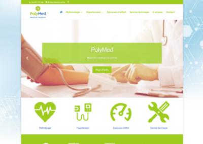 Site Internet PolyMed