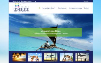 Site Internet Voyages Ligne Bleue