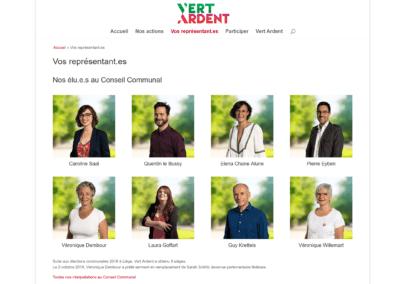 Site Internet Vert Ardent