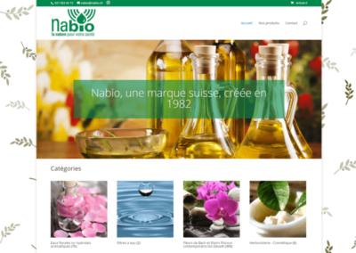 Site Internet Nabio