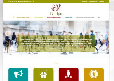 Site Internet ASBL Nadja