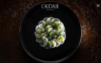 Site Internet Restaurant Caudalie